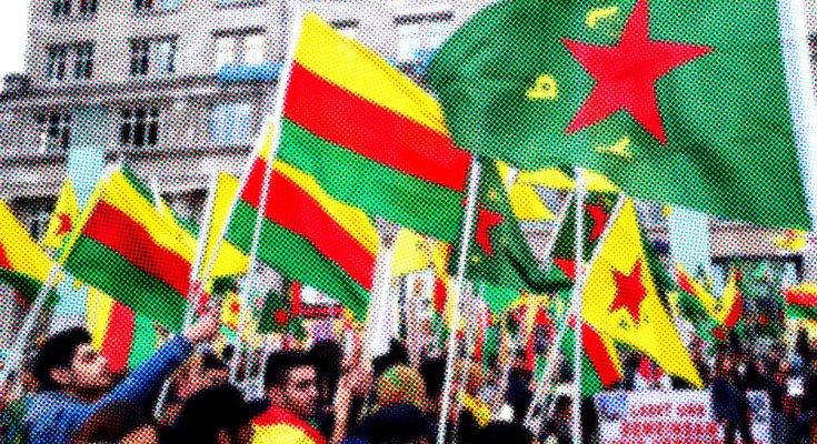 Rojava-Demonstration in Köln