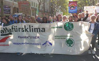 Klimastreik Demo