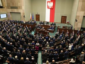 Das polnische Parlament, der Sejm
