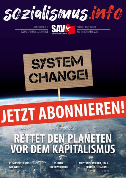 sozialismus.info - die Zeitschrift - jetzt abonnieren!