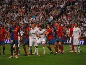"""Der """"Clásico"""" zwischen Real Madrid und FC Barcelona 2009"""