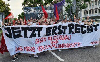 Kölner Spontademo gegen Polizeigewalt